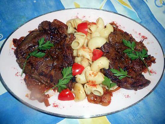 recette foie d agneau au paprika