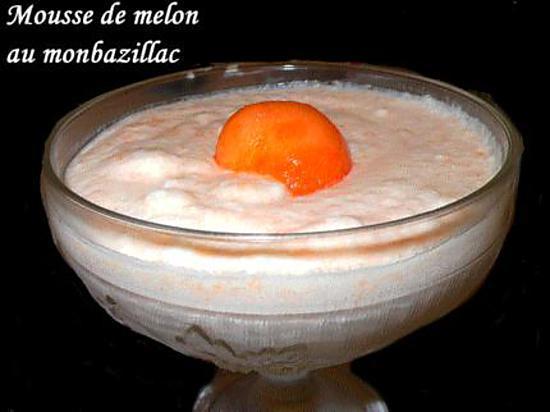 recette Mousse de melon au monbazillac