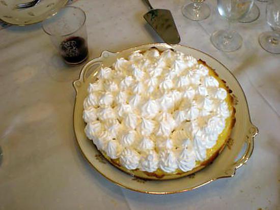 Recette de tarte au citron meringuee par istria - Tarte citron meringuee recette ...