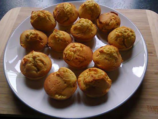 recette petits cakes à l'orange