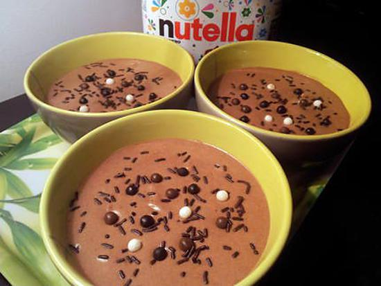 recette de mousse nutella mascarpone par jesscuisto. Black Bedroom Furniture Sets. Home Design Ideas