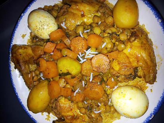 recette Riz facon tlitli algerien