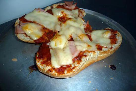 recette pizza sandwich