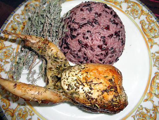 cuisiner riz noir