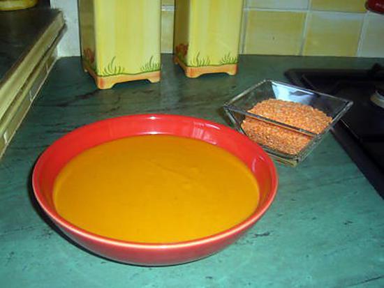 Recette De Soupe De Lentilles Corail Au Lait De Coco