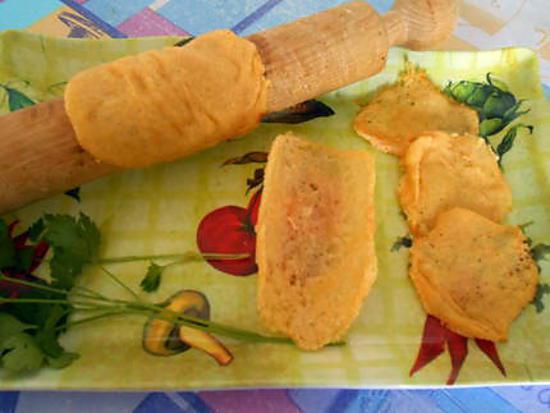 Chips et tuiles au parmesan 430