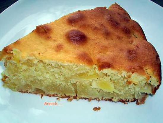 "recette moelleux ""ananas-mascarpone"""