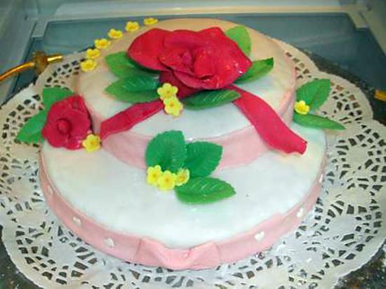 recette de gâteau fête des mères moka spéculoos