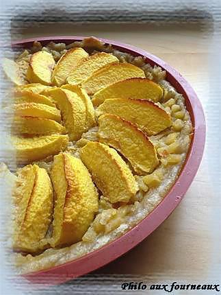 recette Tarte aux pommes à la Normande