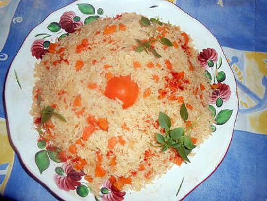 recette Riz aux carottes fanes