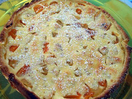 Tarte aux peches et abricots 430