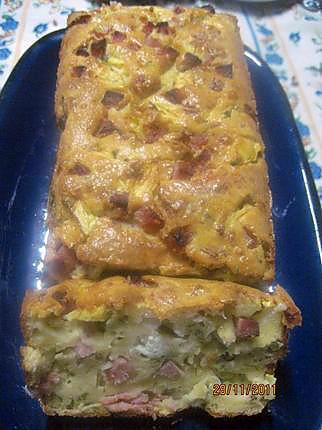Recette De Cake Au Fromage De Chevre Et Des De Jambon