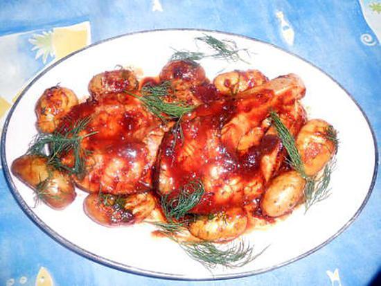 Recette de darne de saumon grill e sauce barbecue - Sauce pour saumon grille barbecue ...