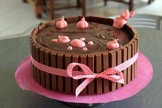 recette gateau: Bain de boue pour les cochons