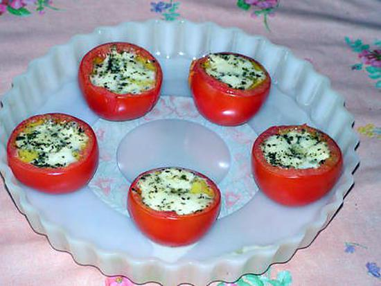 recette de tomates farcies la mozzarella. Black Bedroom Furniture Sets. Home Design Ideas