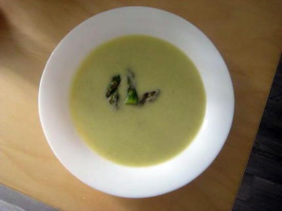 recette Velouté d'asperges vertes
