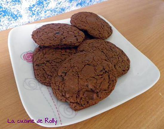 recette de maxi cookies au chocolat. Black Bedroom Furniture Sets. Home Design Ideas