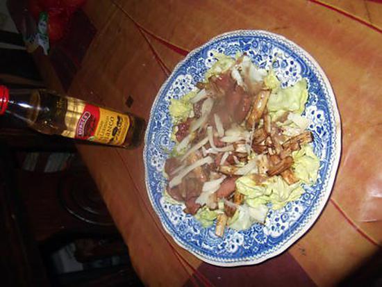 recette asperges au jambon  de bayonne