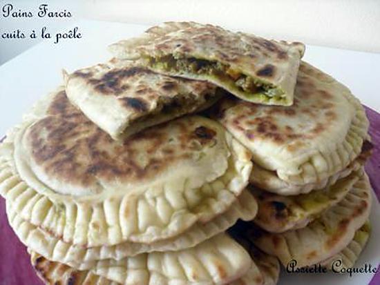 recette de pains farcis cuits la po le id al pr le ramadan. Black Bedroom Furniture Sets. Home Design Ideas