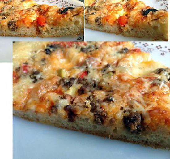 Recette de pizza liquide la viande hach e - Temps de decongelation viande ...