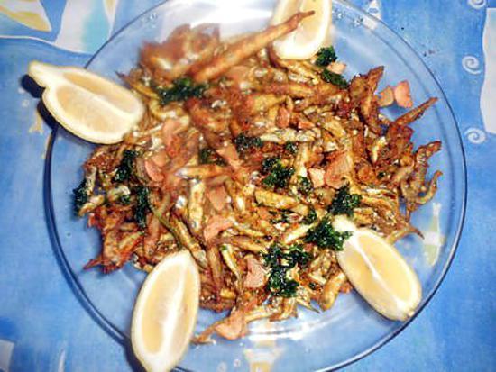 recette Friture d éperlans a l ail