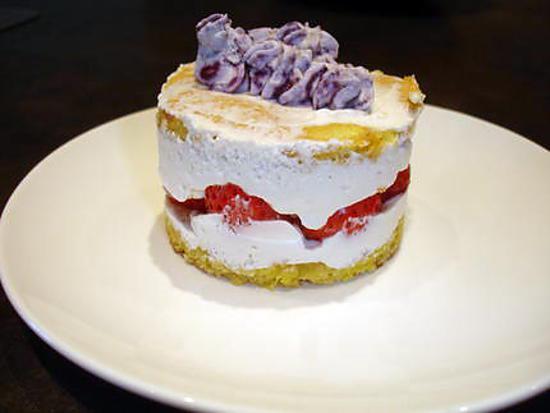 recette mini/-fraisier