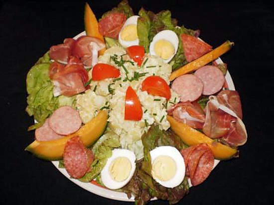 Recette de plat froid du dimanche soir for Plat original facile