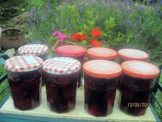 Sterilisation betterave table de cuisine - Comment cuisiner les betteraves rouges ...