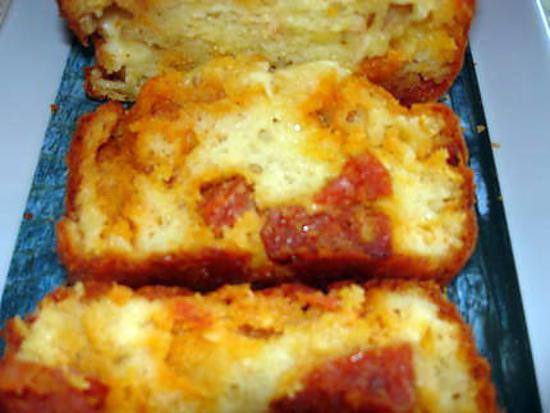 Recette Cake Maroilles Chorizo Marmiton