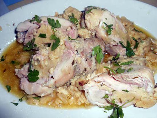 Cuisses de poulet farcies mascarpone gorgonzola 430