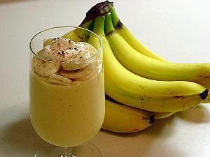 recette Jus de banane aux raisins secs