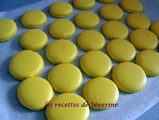 recette coques pour macarons à la meringue italienne