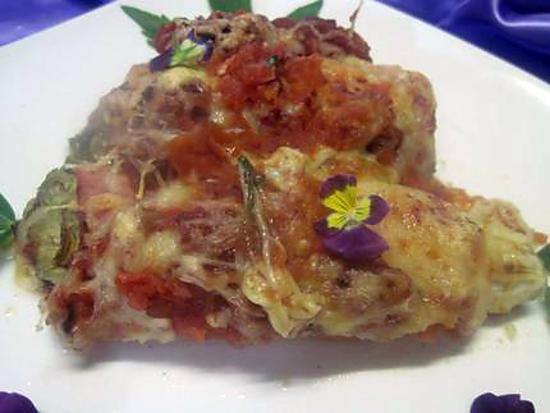 Recette d 39 endives au jambon sauce tomates gratin es - Recette endives au jambon ...