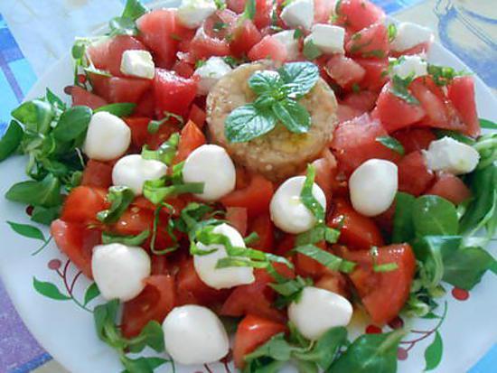 Salade aux couleurs de l'Italie 430