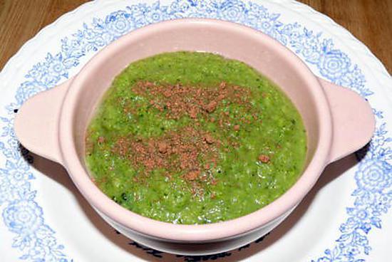 recette Gaspacho de brocoli de Charline