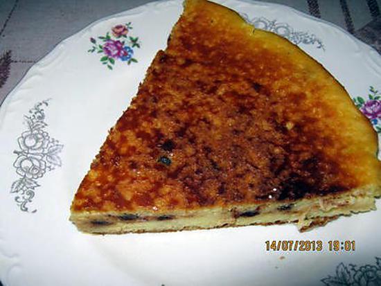 recette Gâteau au fromage blanc  fait par mon epoux