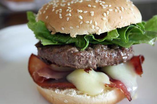recette Hamburger au comté