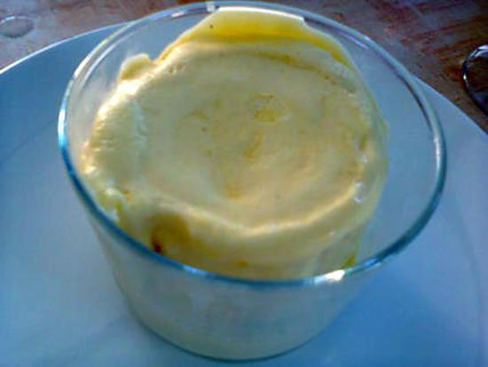 recette soufflé glacé à l'orange