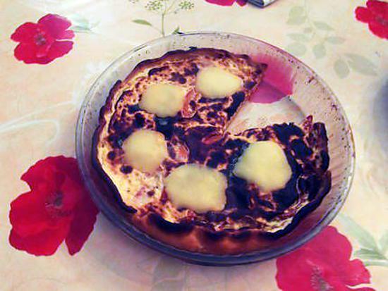 recette Quiche tomates/poivrons/mozzarella à la moutarde et aux herbes de provence et curry