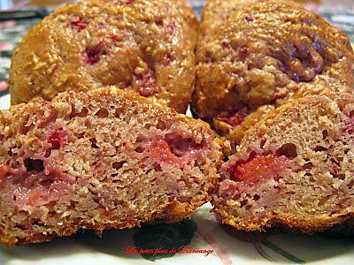 recette Muffins léger aux framboises