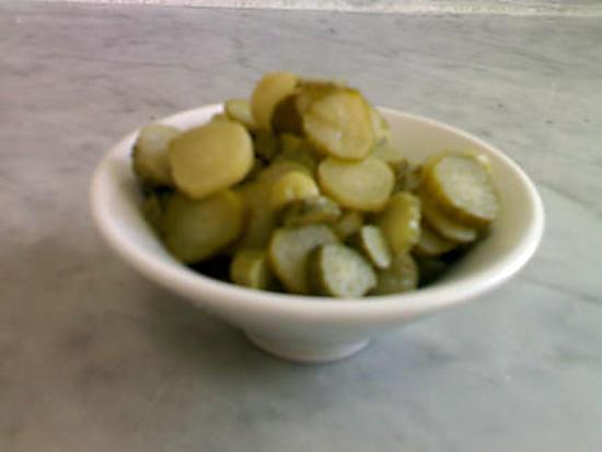 recette Concombre mariné