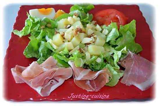 Recette de salade compos e de l 39 et - Salade d ete composee ...