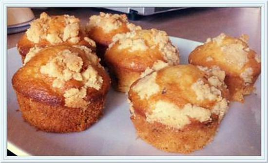 recette Muffins vanille pépites de chocolat caramel et streusel
