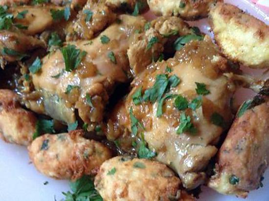 Recette de plat alg rien au poulet pour ramadan - Recette de cuisine algerienne moderne ...