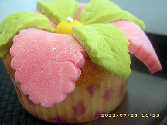 recette de cupcakes au nutella et p 226 te 224 sucre fleur