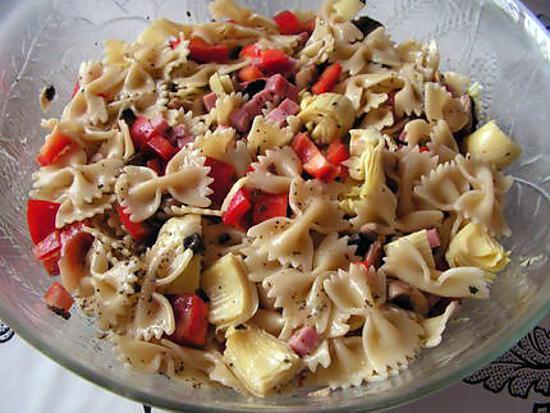 recette Salade de pâte parisienne