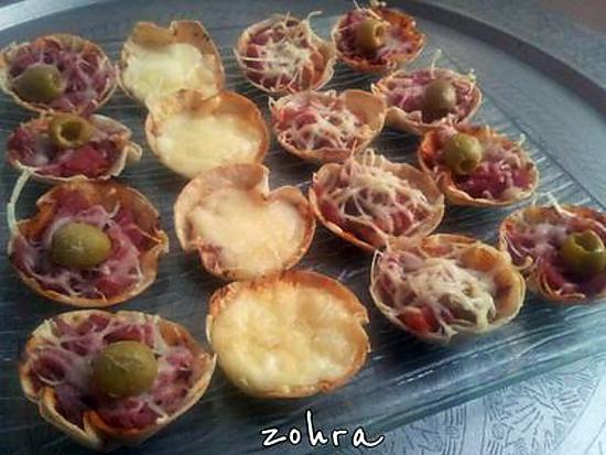 recette de tortilla facon mini pizza. Black Bedroom Furniture Sets. Home Design Ideas