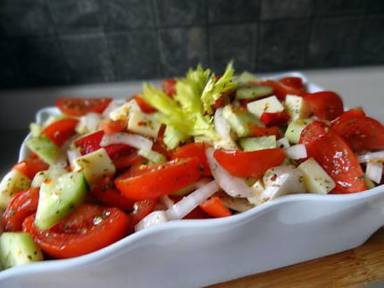 Recette de salade estivale rafra chissante for Entree estivale