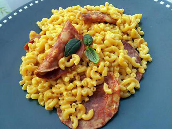 recette de risotto de coquillettes au chorizo. Black Bedroom Furniture Sets. Home Design Ideas
