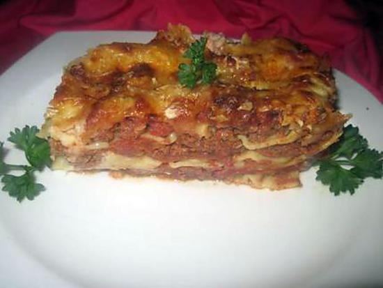 recette de lasagne quot bolognaise quot maison par tatie